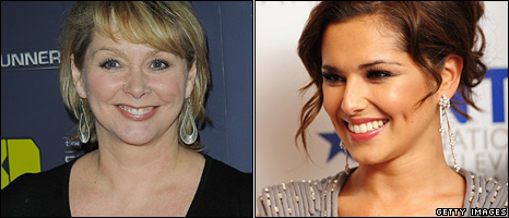 Cheryl Baker and Cheryl Cole
