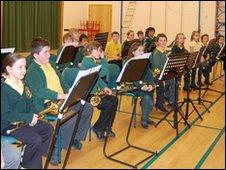 Forest School musicians