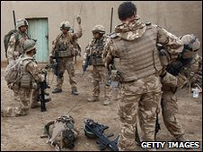 Generic image of British soldiers involved in Operation Moshtarak in Afghanistan