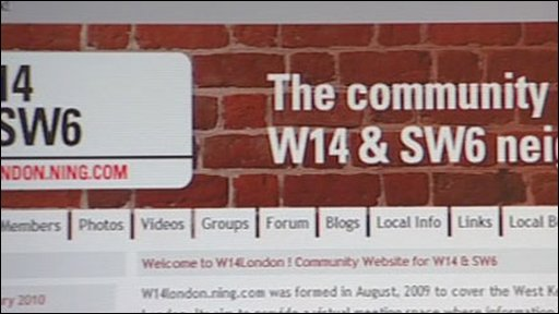 A community website in London