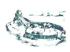 Artist impression of Mold's motte and bailey castle, courtesy Flintshire Council