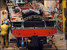 Restoration of the Flying Scotsman