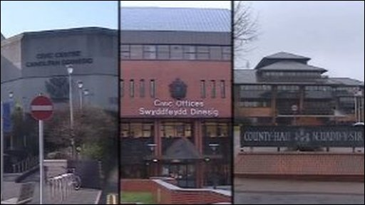 Council offices (compilation image)