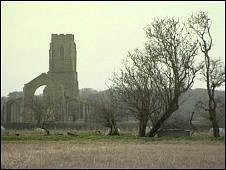 St Andrew's in Covehithe is threatened by coastal erosion