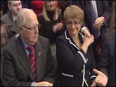 Eddie McGrady and Margaret Ritchie