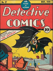 Batman comic book cover