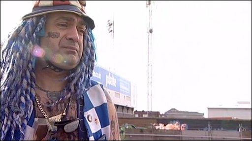 Portsmouth fan - John Westwood