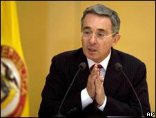 Alvaro Uribe (5 February 2010)