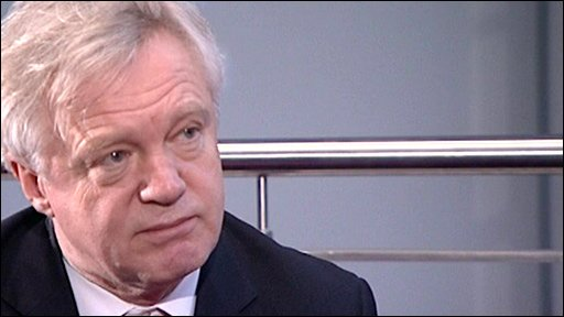 Former Shadow Home Secretary David Davis