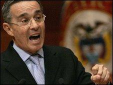 Alvaro Uribe (3 February 2010)