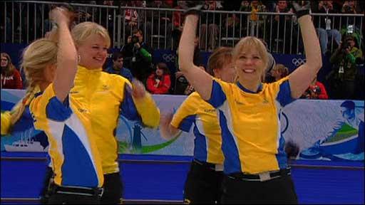 Sweden beat Canada in curling final