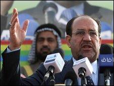 Iraqi premier Nouri Maliki