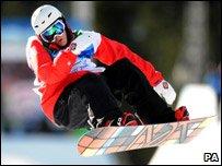 Snowboarder Ben Kilner