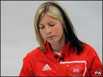 Great Britian curling skip Eve Muirhead