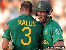 Jacques Kallis and AB de Villiers