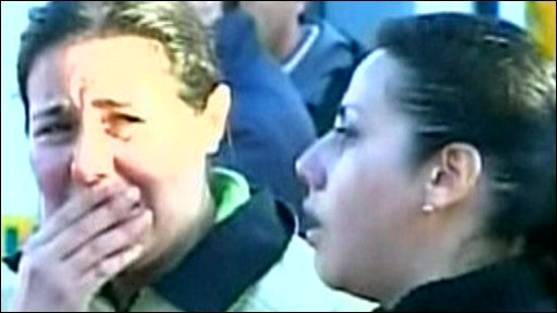 Two women in Chile