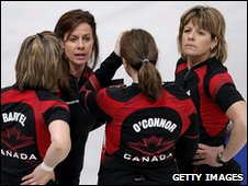 Canadian women's curling team