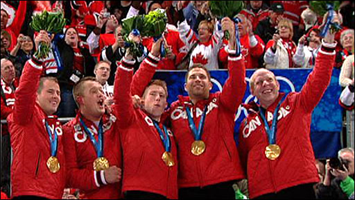 Canada's men's curling team