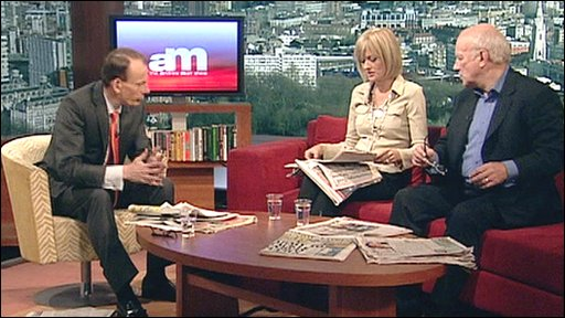 Andrew Marr, Jane Moore, Greg Dyke
