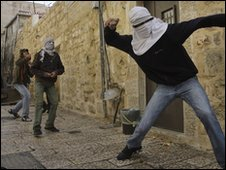 Stonethrowers in the Old City