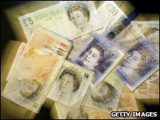 Generic UK bank notes
