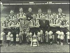 Newcastle United 1951 FA Cup winning team