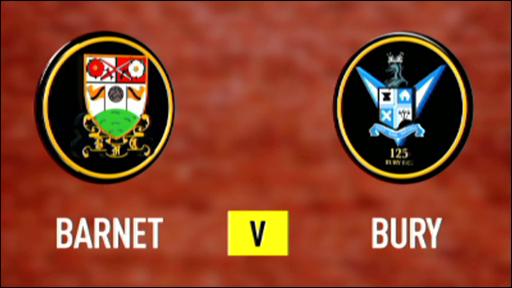 Barnet 0-0 Bury