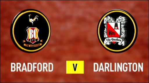 Bradford 1-0 Darlington