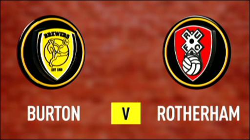 Burton 0-1 Rotherham