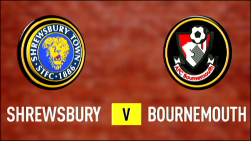 Shrewsbury 1-0 Bournemouth