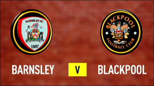 Barnsley 1-0 Blackpool