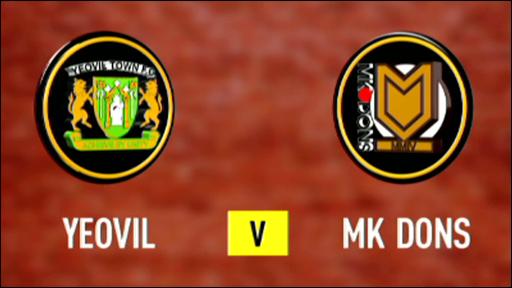 Yeovil 1-0 MK Dons