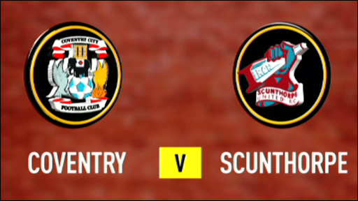 Coventry 2-1 Scunthorpe