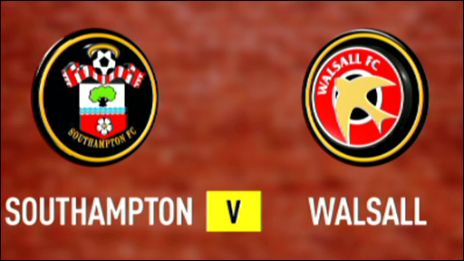 Southampton 5-1 Walsall