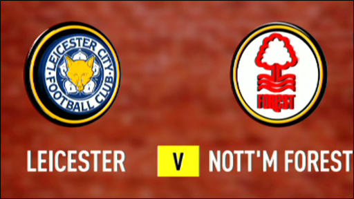 Leicester 3-0 Nottm Forest