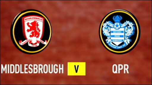Middlesbrough 2-0 QPR