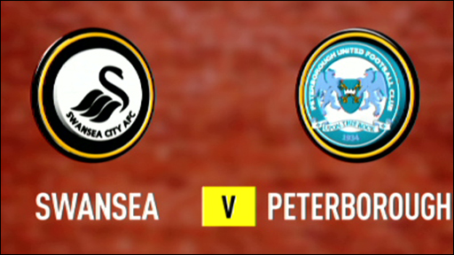 Swansea 1-0 Peterborough