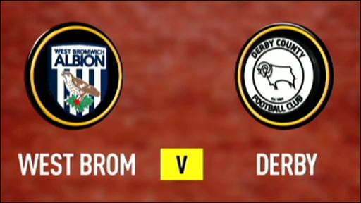 West Brom 3-1 Derby
