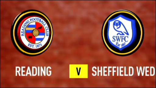 Reading 5-0 Sheffield Wednesday