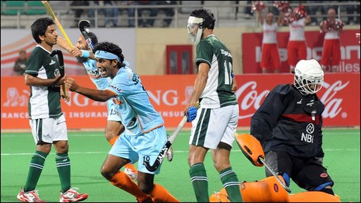 Indian hockey player Shivendra Singh
