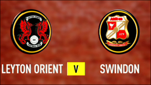 Leyton Orient and Swindon team badges