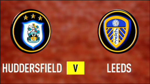Huddersfield and Leeds team badges