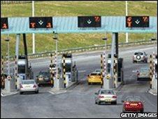 M6 toll road