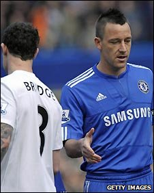 "John Terry warns Craig Bellamy that ""people in glass house shouldn't throw stones."""