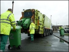 Refuse collection operator in Manchester