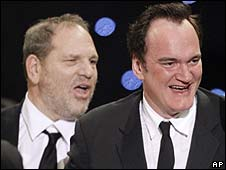 Harvey Weinstein and Quentin Tarantino