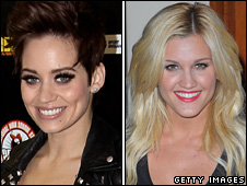 Kimberley Wyatt and Ashley Roberts