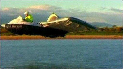 Flying hovercraft
