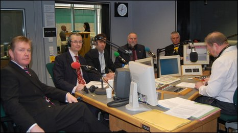 BBC Facing The Cuts debate on the Roger Phillips programme