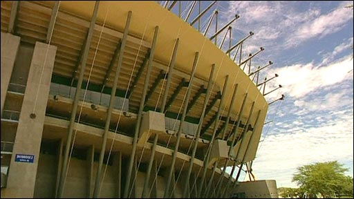 Royal Bafokeng Stadium in Phokeng, Rustenburg
